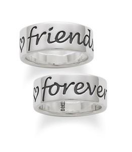 forever friends ring